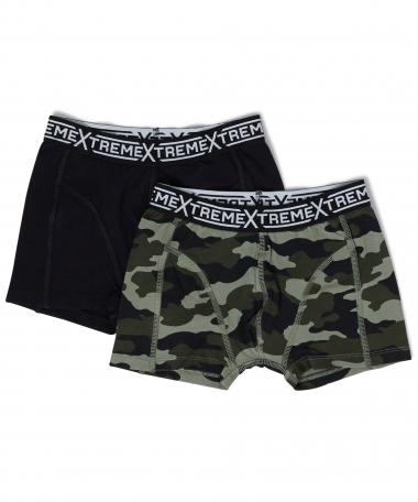2-pack boxershorts mix