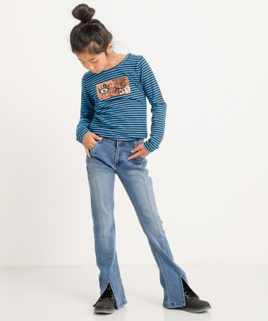Flared jogg jeans