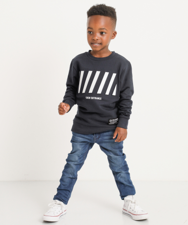Sweater met frontprint